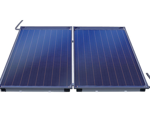 Vi tilbyder både solvarme og jordvarme